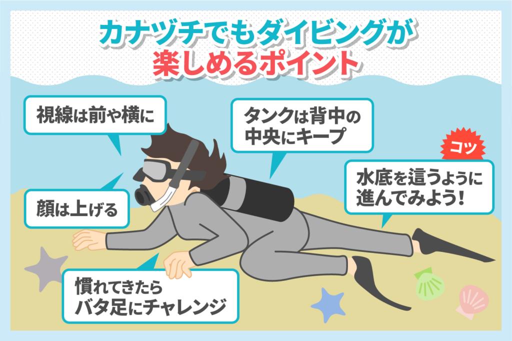 ダイビングは泳げない人もできる!上達と楽しむための基本ポイント